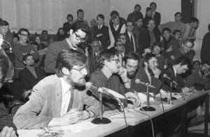 1969 05 Bezetting aula KU Nijmegen