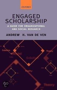 Van de Ven: Engaged Scholarship: aanbevolen!