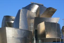 Guggenheim Museum in Bilbao. Vind ik mooi