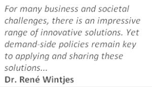 Innovatie - citaat René Wintjes