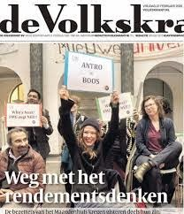 Onderwijs - studentenprotest