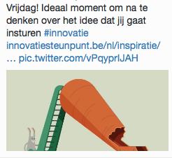 Innovatie - tweet 7