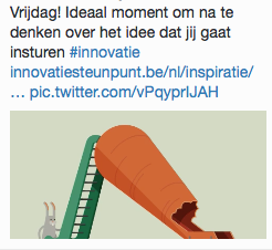Innovatie - tweet 7