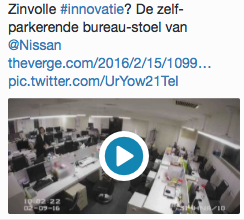 Innovatie - tweet 9