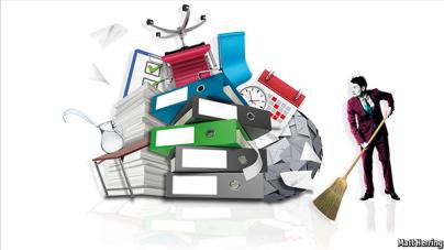 Organisatie - decluttering