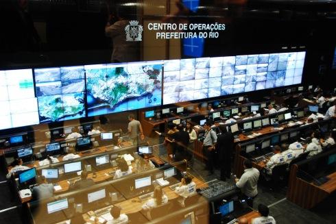 Smart city - dash board Rio de Janeiro