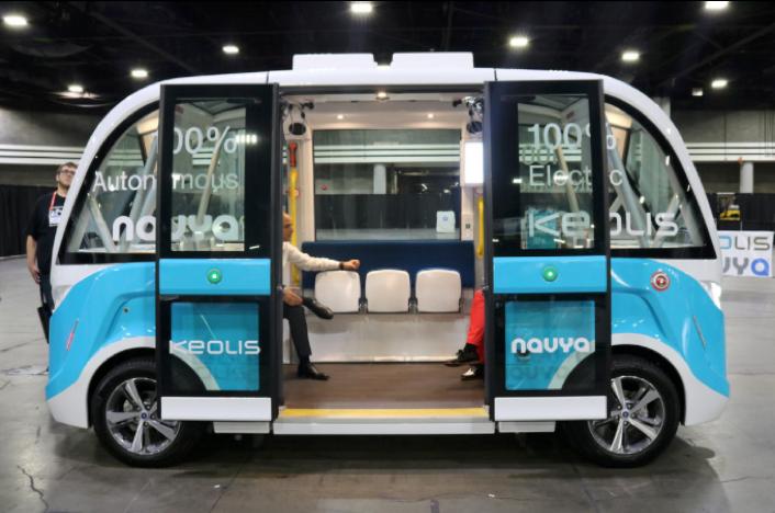 Autonome minibus